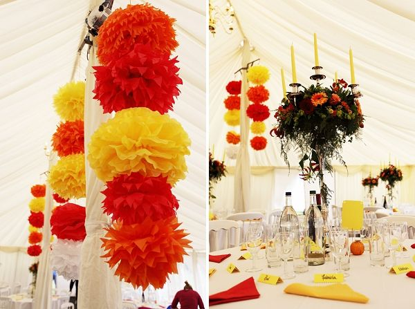 Beautiful Yellow And Red Wedding Photos Styles Ideas 2018