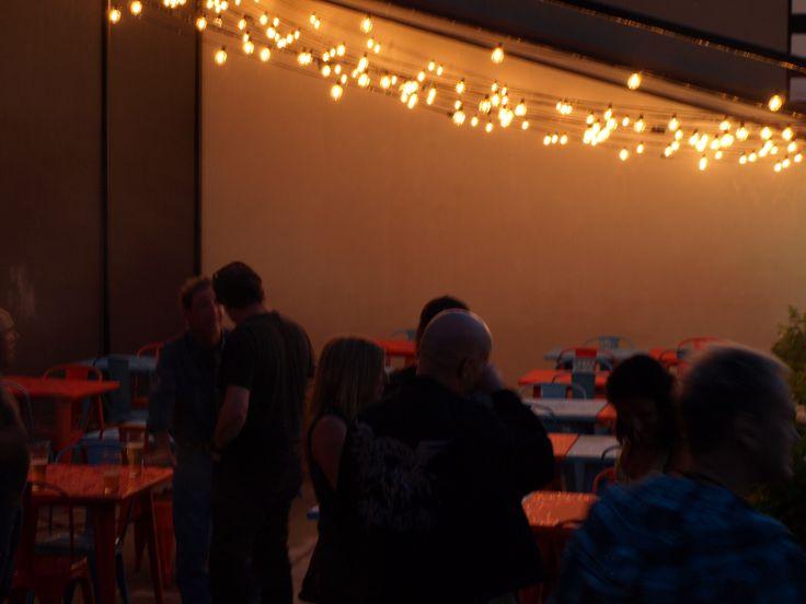 Terrasse ouverte toute la soirée  Le Bar à vin - Bistro Le Club au Quartier Dix30 #bar #vin # wine bar #tapas #cellier #Dix30 #vin importation #terrasse #soir