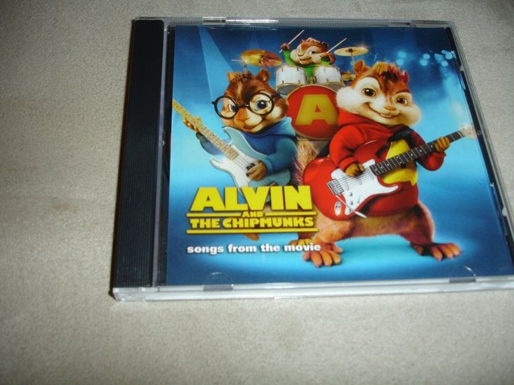 Alvin And The Chipmunks Songs From The Movie Soundtrack Sampler CD 5 Tracks