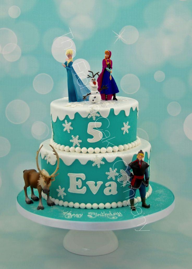 Pièce montée Reine des Neiges Frozen Cake Cake Design Belgique