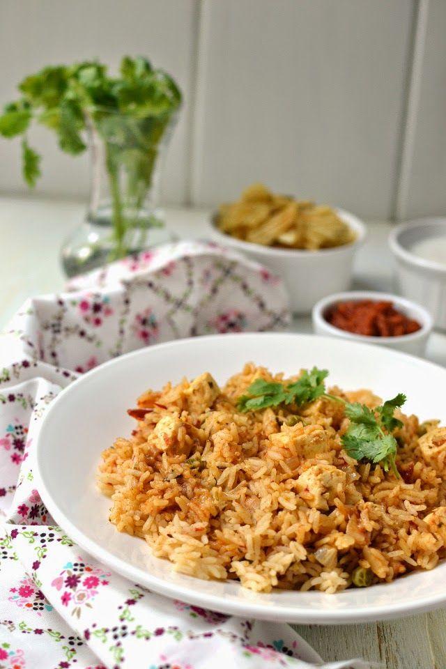 Quick Paneer Pulao (Pressure Cooker Method) by Cook's Hideout