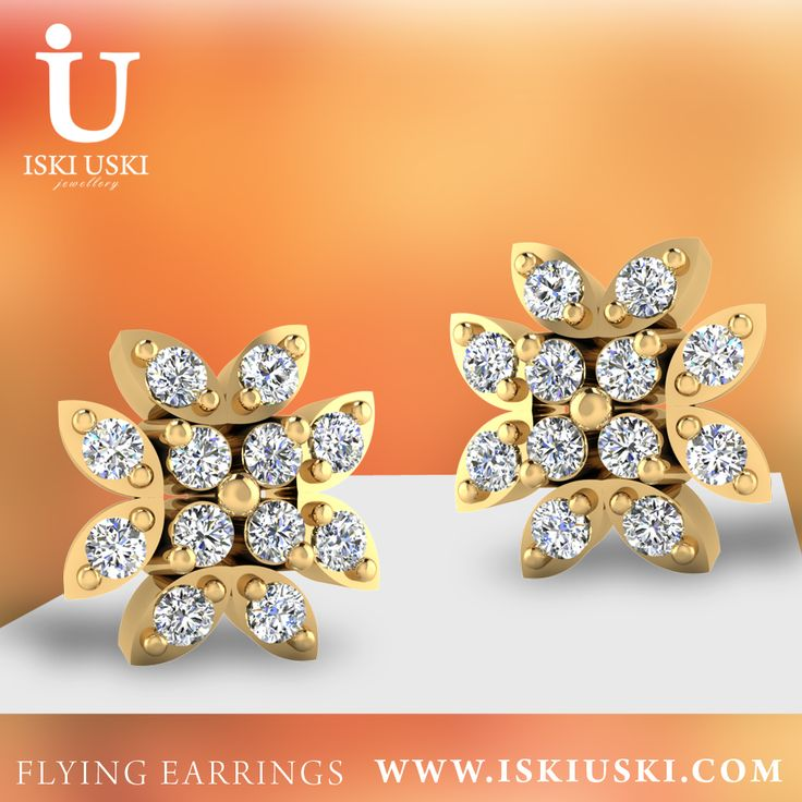 Earrings | Flying Earrings | IskiUski IskiUski is showing Popular ‪‎flying‬ ‪earrings‬, designed by ‪Aakanksha‬ Rustagi