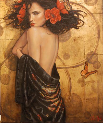 Blank Studio Gallery | Lauri Blank Studio creating fine art original oil paintings