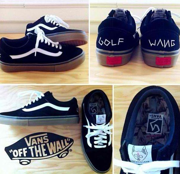 Syndicate Vans X Golf Wang