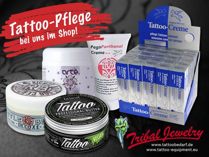 Best quality tattoo care, e.g. Hustle Butter Deluxe; Arté Vaseline with Vitamin, A+E and Panthenol; Tattoo Professional Butter (vegan); Pegapanthenol-Creme; Tattoo Cremes (100 pcs) with Display #tattoocare #tattoocreme #tattoobutter #tattoopflege #tattoonachsorge #tattoohygiene #tattoobedarf #tattoosupport #tattoosupply #tribaljewelrysuppl #tattooequipment #tattoostuff