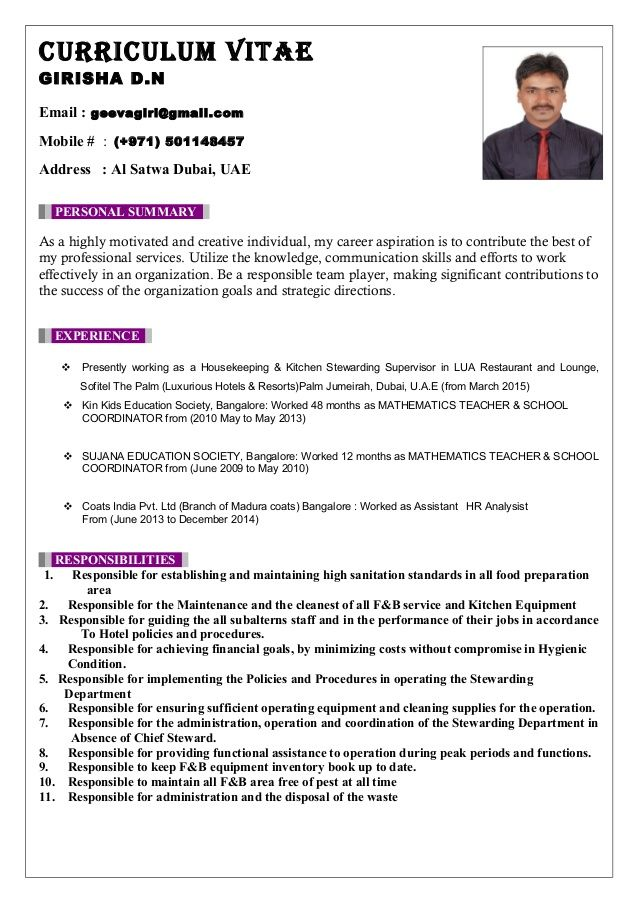 Kitchen Steward Sample Resume In 2020 Steward Resume Sample Resume