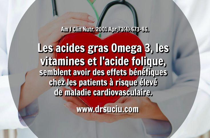 Photo Les Omega 3, les vitamines et les maladies cardiovaculaires - drsuciu