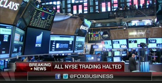 """CEO: NYSE SHUTDOWN """"PROBABLY"""" A CYBERATTACK Suspicions abound about official explanation of 'technical glitch'"""
