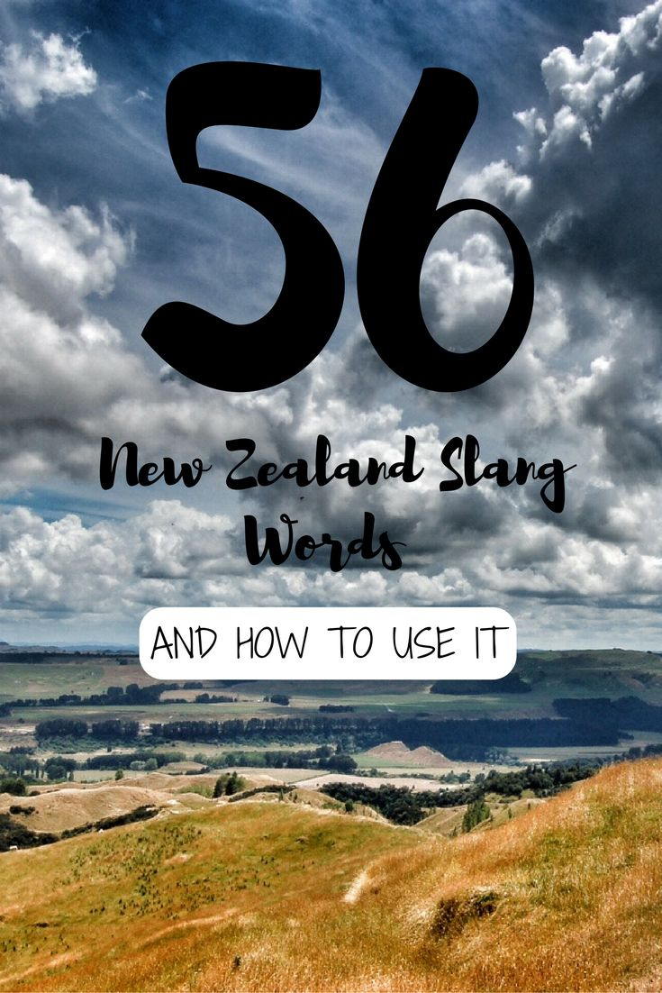 56 Typical New Zealand Slang Words And How To Use It Like A Kiwi