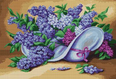 Lilacs Cross Stitch Kit By Luca S