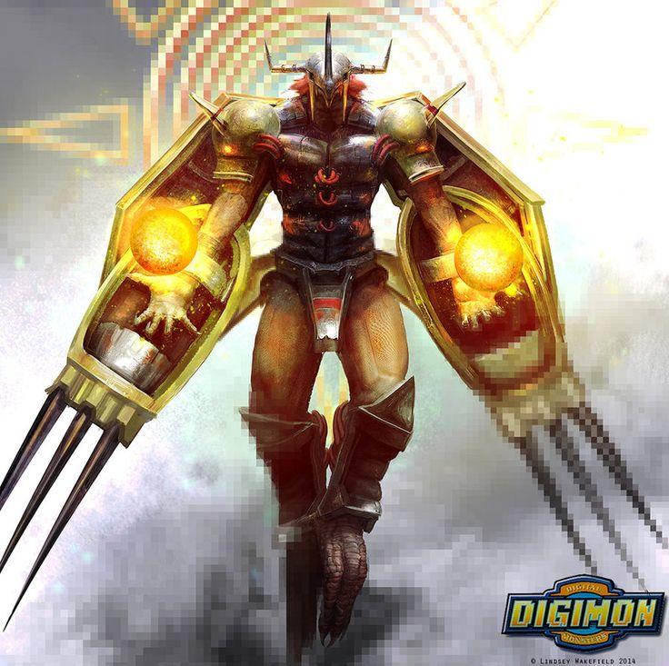 Digimon: Wargreymon by LindseyWArt