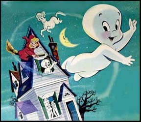 casperand 39 s scare school characters. casper the friendly ghost and wendy good little witch. casperand 39 s scare school characters