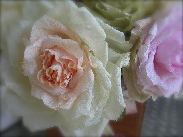 Le rose di Mari paper roses http://lerosedimari.blogspot.com