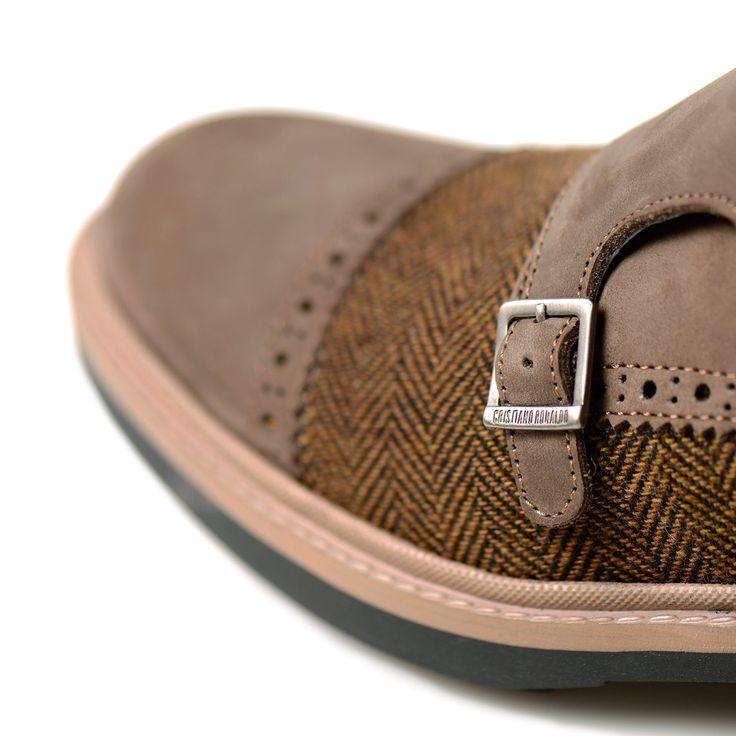 CR7 RIBEIRA DOUBLE MONK TWEED – Portugal Footwear