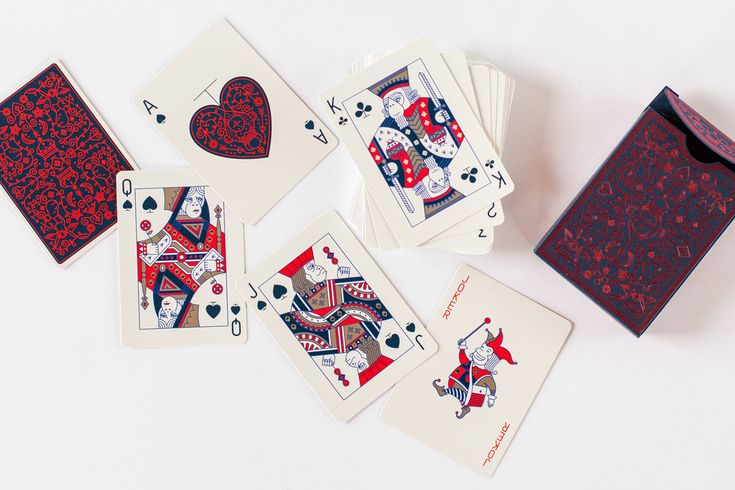 Mail Chimp Playing Cards