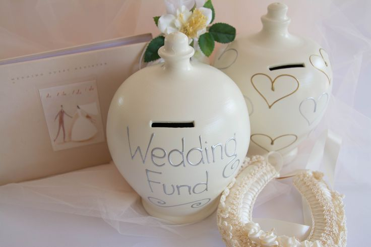 Help each other save for a wonderful day with these gorgeous Money Pots.