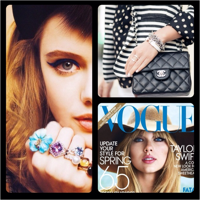 I just LOVE my new app for making collages with my pictures! And I certainly LOVE fashion, too! :)