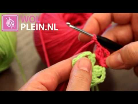 Granny square haken - YouTube