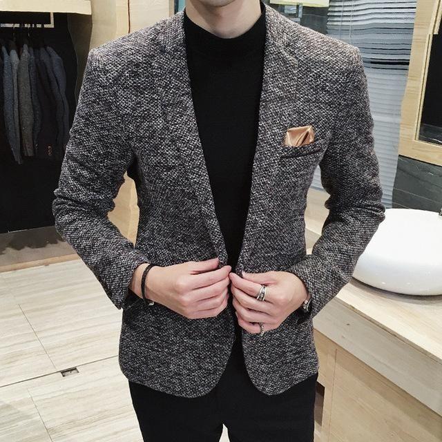 Topcoat Men Casuals Fashion