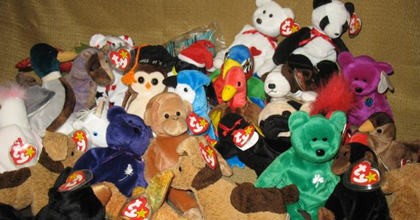 803b878e49414 Beanie Babies sell for hundreds and thousands of dollars on eBay every  single day, so