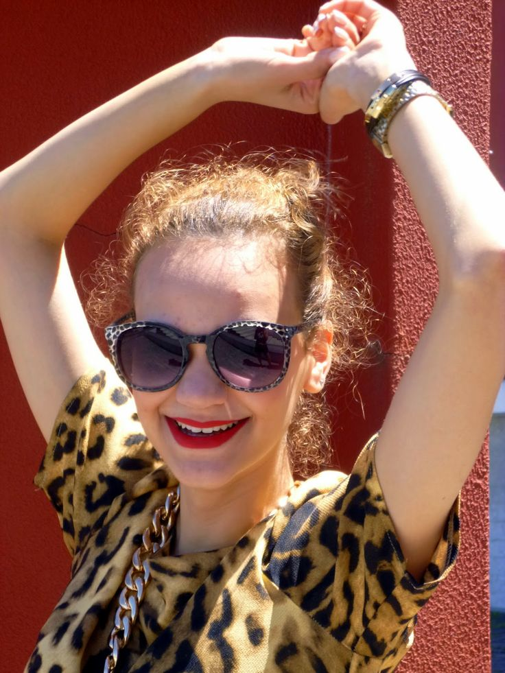 OUTFIT | OUTFIT JUNGLE Red lips