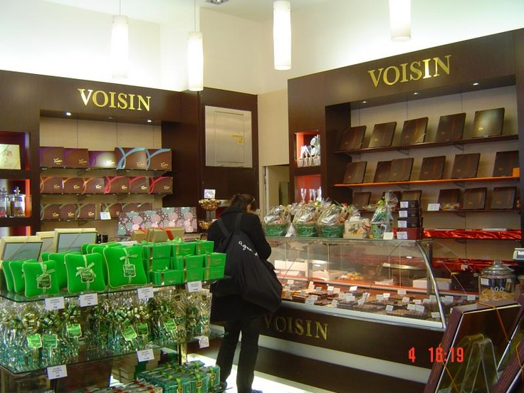 Maison Voisin (Lyon, multiple locations): a must  for the local coussin and quenelle confections in this culinary capital.