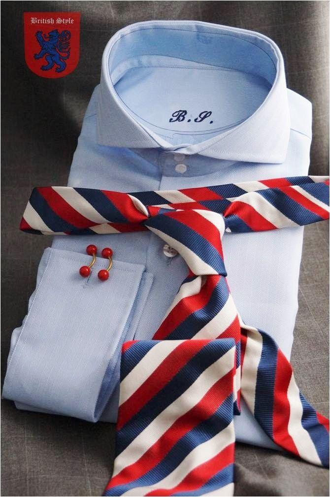 stylebritish2012:  Shirt Herringbone Cutaway by British Style  Available: britishstyle2012@gmail.com