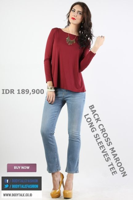 Looking Casual on Friday Night try this on ladies IDR 189,900 >> http://ow.ly/uO9hs