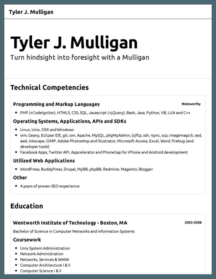 Más de 25 ideas increíbles sobre Basic Resume Format en Pinterest - computer science student resume