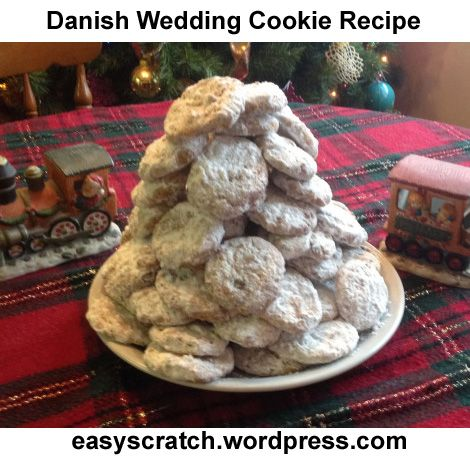 Danish Wedding Cookies This recipe is my recipe that I trial and error'ed until I got it as close to the Keebler Danish Wedding Cookies as I could. The ingredients are the same.  Ingredients...