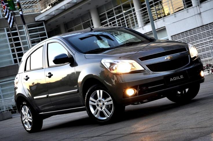 Chevrolet lança Agile com câmbio automatizado