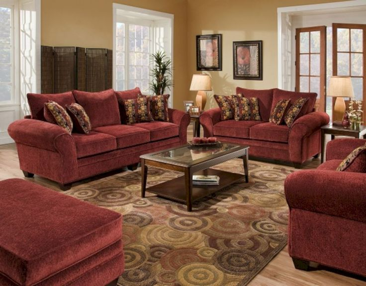 High Quality 50 Beautiful Maroon Living Room Walls Ideas Part 18