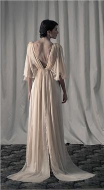 Bridal dress by teti charitou wedding gamos bridal for Greek wedding dress designers