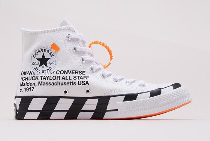 Closer Look Off White X Converse Chuck 70 Off White Converse White Nikes Off White Shoes