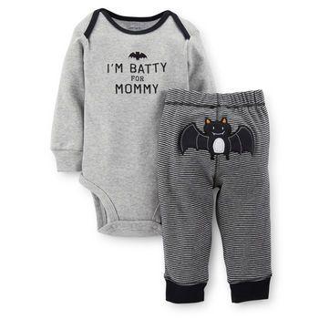 Halloween 2-Piece Bodysuit & Pant Set