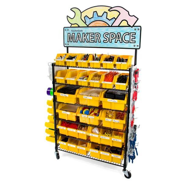 Maker Cart - The Ultimate STEM / STEAM / Maker Solution