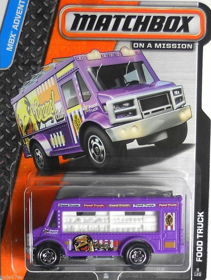 Toys toy boxes and fire trucks on pinterest - Food Truck 2014 Matchbox Adventure City D Case Diecast
