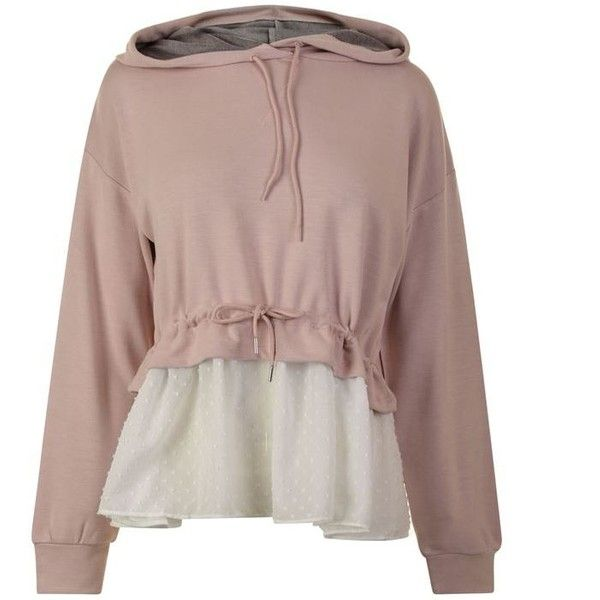 French Connection Cantin Hooded Sweatshirt (2.670 ARS) ❤ liked on Polyvore featuring tops, hoodies, lotus flower, rayon shirts, brown hoodie, hooded shirt, sleeved shirt and sweatshirt hoodies