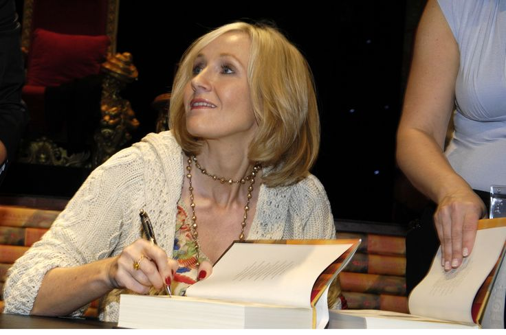 La autora de Harry Potter, J.K. Rowling