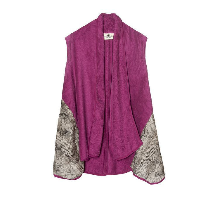 "The ""Venom"" Vest is the perfect day to night garment for animal print lovers!"