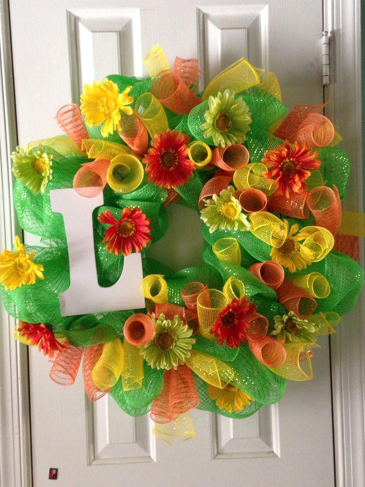 Spring and summer wreath Rachel s wreaths