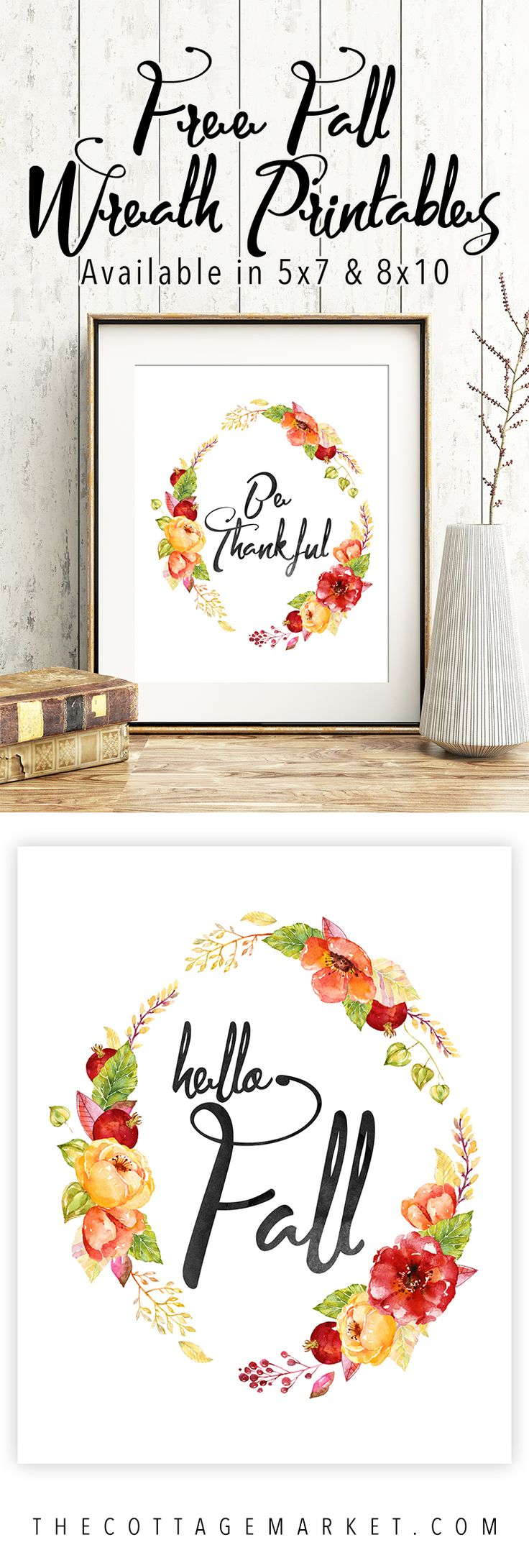 Free Printables for Fall - The Cottage Market
