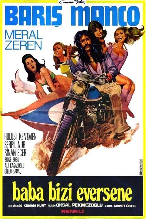 """""""Baba Bizi Eversene"""" (1975)  Yönetmen :Oksal Pekmezoğlu Barış Manço'nun ilk ve son filmi."""