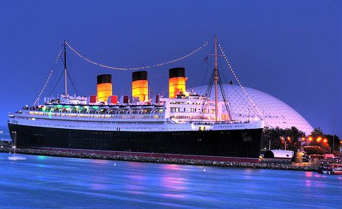 Best Western Long Beach Hotel, California - Queen Mary