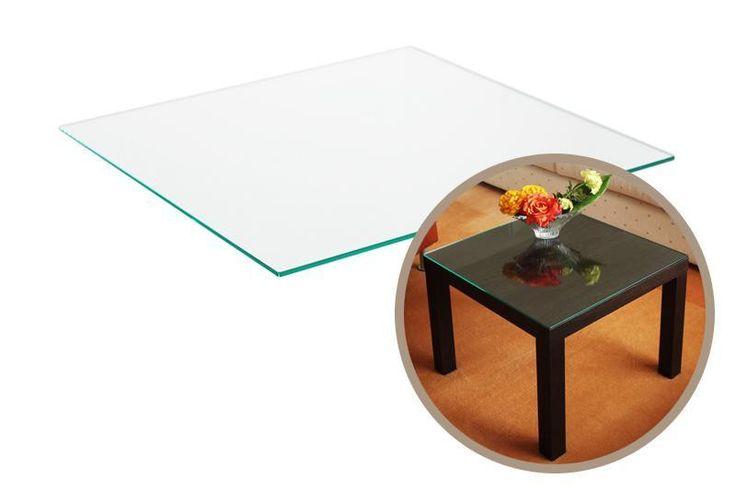 Tischplatte Ikea Glas ~ Beistelltische  Tischplatte aus Glas für Ikea Lack Tisch  ein