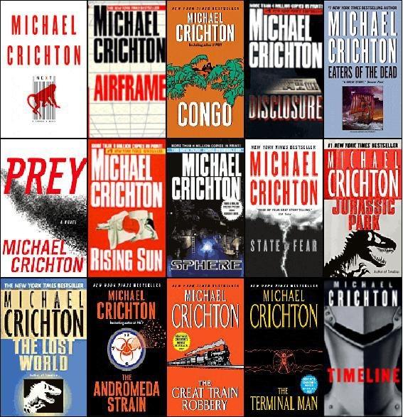 Michael Crichton BooksWorth Reading, Book Book, Book Worth, Crichton Book, Book Awesome, Favorite Book, Book Reading, Worthwhile Book, Michael Crichton