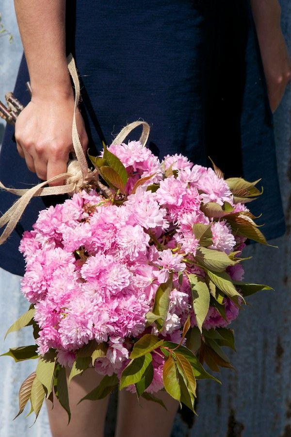 Simple bouquets DIY - Naked Bouquet
