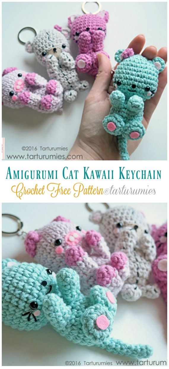 15 Free Must-Make Amigurumi Keychains for Bags, Purses, and Keys ... | 1240x570