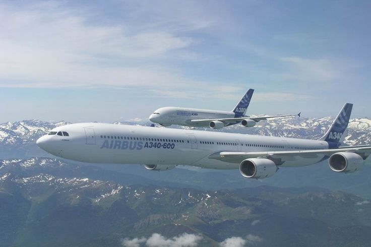 Airbus A340 Commercial Passengers Airplanes- World Car Edition