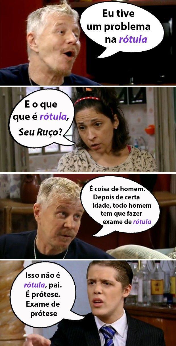 Ruço e Alessanderson explicam o que é Rótula para Adenóide #PeNaCova | TV Globo